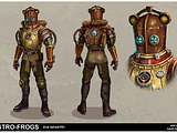Concept Art for Video Games and other Nerdy Endeavors