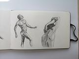 Figure drawing based on Steven Zapata's lessons