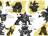 ideation assignment monster lab proko final colors push