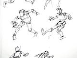 Gesture - Youth Soccer Drawings