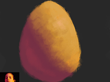 Egg colour and light study. Looking for feedback