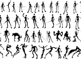 Some silhouettes