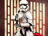 First Order Clonetrooper   with color background red30