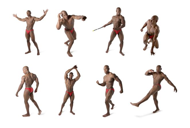 anthony pose examples
