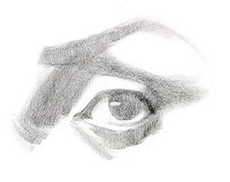 drawing the eye two values