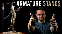 How to Make an Adjustable Stand for Your Armatures