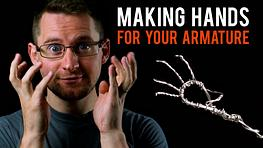 Armature for Hands