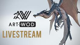 June 18th 12:30 PDT - Doodling Dragons with Art-Wod (LIVESTREAM)
