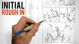 """Drawing Your First Comic Page: The """"Rough In"""""""
