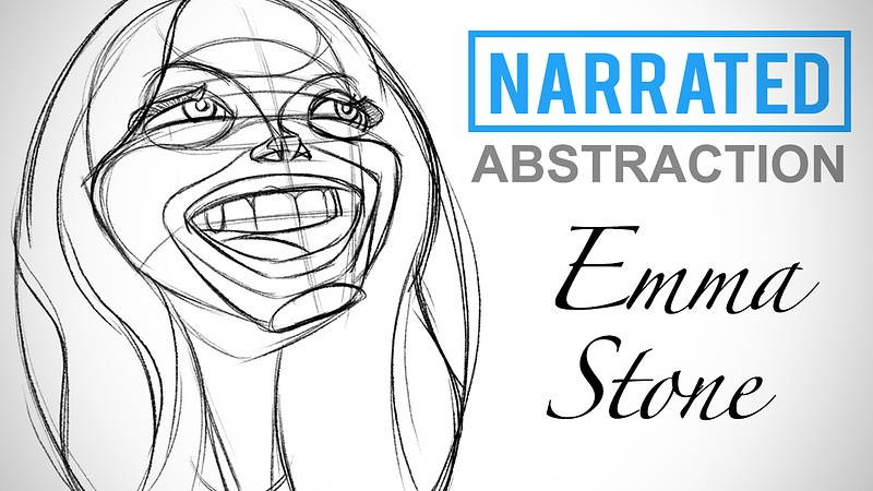 Narrated Abstraction Example - Emma Stone