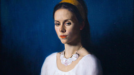 Portrait Painting in Oil using Sight Size Method