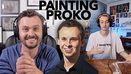 Proko Critiques my Painting of Proko