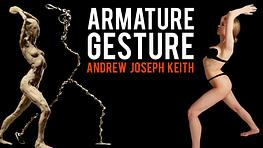 Sculpting Gesture with an Armature