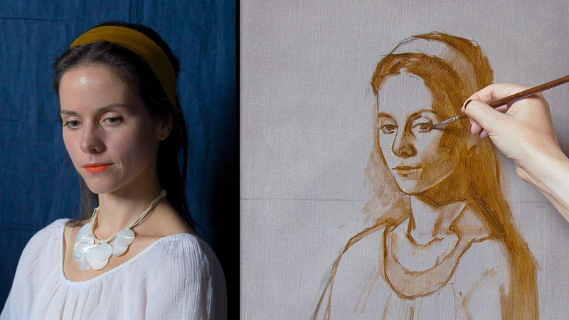 Underpainting - Real Time