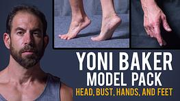Yoni - Head, Bust, Hands, and Feet